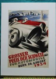Mercedes opened talks with williams about borrowing the briton, who has been backed by the silver arrows throughout his career, for the second bahrain race when. Vintage Swiss Grand Prix 1934 Bern A3 Print Poster F1 Motor Racing Free Postage Ebay