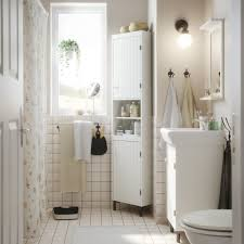 Bathroom Cabinets Ikea Add A Little Romance White Corner
