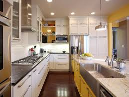 White painted kitchen cabinets Antique White Shop This Look Hgtvcom Best Way To Paint Kitchen Cabinets Hgtv Pictures Ideas Hgtv
