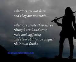 Warrior Quotes Classy Inspirational Warrior Quotes Inspirational Quotes