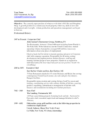 Execlevel Executivechef Chef Resume Samples Sample Examples Sous ...