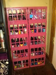 nail polish organizer rack