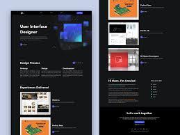 Design Theme Bangalore Personal Portfolio Website Dark Theme V1 0 By Aravind
