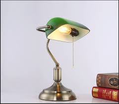 antique bronze desk lamps traditional table lamps reading light green glass adjule task desk lamp brass lighting bedroom in table lamps from lights
