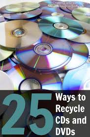 diy crafts 25 ways to recycle cds and dvds