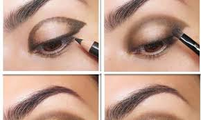 extravagant gold glitter eye makeup tutorial