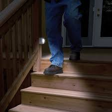Motion Sensor Stair Lights Best Outdoor Motion Sensor Light All Home Design Ideas