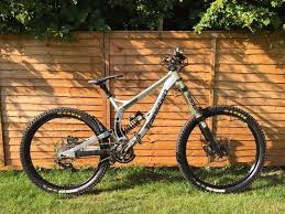 transition tr450 dh frame with fox dhx rc4 shock