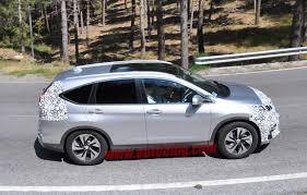 new car launches october 20142015 Honda CRV Facelift Revealed