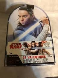 Hallmark kids baby yoda mini valentines day cards assortment (12 cards with envelopes) 4.5 out of 5 stars 23. 32 Star Wars Valentines Day Cards Brand New In Box Sealed Ebay