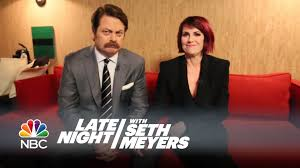 Megan Mullally Nick Offerman Megan Mullally Answer Your Relationship Questions