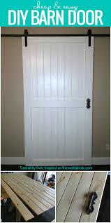 Dutch Barn Door Plans Remodelaholic Cheap Easy Diy Barn Door