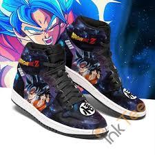 1989 291 episodes japanese & english. Goku Galaxy Dragon Ball Z Sneakers Anime Air Jordan Shoes