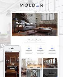 furniture design websites 60 interior. Molder - Interior Design Website Template New Screenshots BIG. Zoom In Live Demo Furniture Websites 60 I