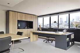 contemporary home office. This Contemporary Office Combines Function And Form, With Attractive Modern Styling Disguising Extensive Storage. Home E