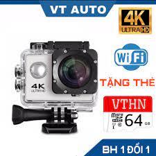 Camera hành trình chống nước chống rung 4k 16m sport ultra hd dv kết nối  wifi ( goplus cam) góc quay 170 độ - camera hành trình xe máy wifi - Sắp