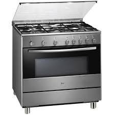 lg gas stove. lg lf98110gf 5-burner gas cooker range lg stove