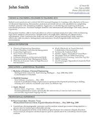 Format For A Professional Resume Engineering Resume Formats Sample