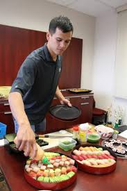 Sushi Cook Our In House Sushi Chef For Boss Day Wikoff Combs Co