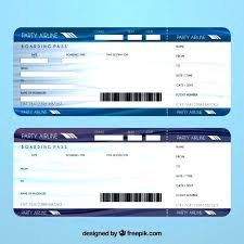 Airline Ticket Template Word Mesmerizing Fake Airline E Ticket Template Plane Luxury Photograph Of