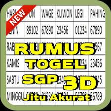 Sementara buat pasaran singapura, hongkong, sydney. Rumus Togel Sgp 3d Jitu Akurat For Android Apk Download