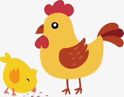 cute hen clipart. Wonderful Hen Cute And Little Chicken Vector Material Big Throughout Hen Clipart
