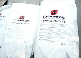 cement countertop mix