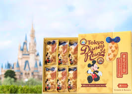 The Iconic Tokyo Banana Cake Now At Tokyo Disney Parks Live