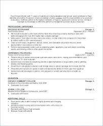Resume Sample For Waitress Waiter Resumes Samples Sample Waiter