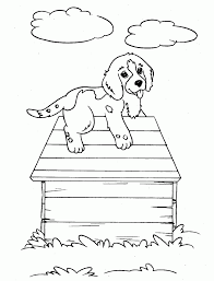 Small Picture Coloring Pages Christmas Coloring Pages Dog Puppy Christmas