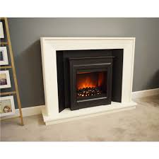 Mayford Lighting Suncrest Mayford Fireplace Suite With White Surround