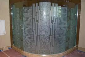textured glass shower doors. Shower/abstract Geometric Waves Circles Bands Textured Glass Shower Doors R