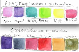 Daniel Smith Watercolor Next Steps In 2019 Mixing Paint