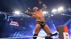 Wwe Network Randy Orton Celebrates After Winning The Royal Rumble Match Royal Rumble 2017