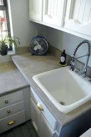 diy concrete countertops self leveling concrete magnificent s little green notebook home interior how much do