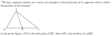 What Is Median Math Coordinate Geometry 2518617 Meritnation Com