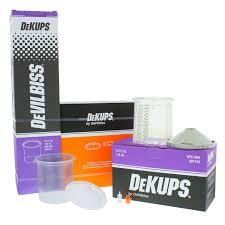Details About Devilbiss Dekups 24 Oz Starter Set Kit New Disposable Hvlp Paint Spray Gun Cups