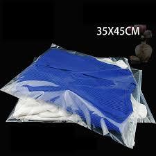 <b>25pcs lot</b>-35*45cm Three styles ( Frosted Clear ) PE plastic <b>zipper</b> ...