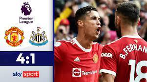 CR7 ist zurück und wie! | Manchester United - Newcastle 4:1 | Highlights -  Premier League 2021/22 - YouTube