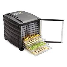 Buffalo <b>10</b> Tray <b>Food Dehydrator</b> With Timer And Door ...