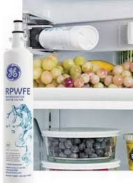 ge refrigerator water filters how often should i change the ge rpwfe filter