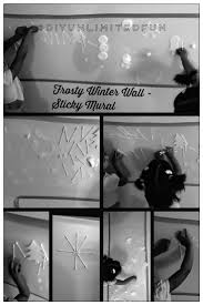 The cotton balls when stamped on the contact paper leaves a fluffy residue.  Miss A said it looked like snow. Then the girls stamped the whole area with  ...