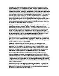 malcolm x s message of the grassroots speech lanugauge analysis  page 1 zoom in