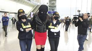Police seize foreign women