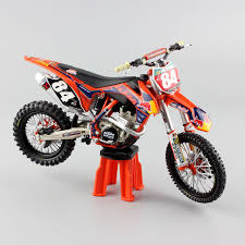 1 12 mini scale ktm sxf 250 no 84 redbull racing enduro motocross