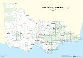 deer hunting maps  game management authority