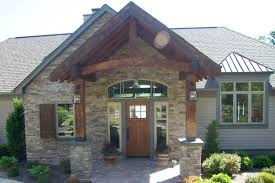 mission style front doorFront Entrance Construction  Remodeling Company Syracuse CNY