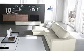 contemporary white living room furniture. Unique Living Wonderful White Modern Living Room Furniture With  Sectional And Contemporary To