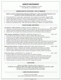 Dental Office Manager Resume Valuable Example Resume For Office