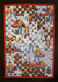 Featured Teacher at The City Quilter in New York City & Charles Johns - Featured Teacher - Cowboy Quilt ... Adamdwight.com
